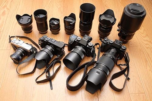 各種カメラ